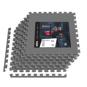 Podložka puzzle EVA 1cm - 6 ks šedá